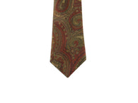 Paisley Velvet Tie - Fine and Dandy