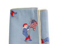 Patriotic Boy Cotton Pocket Square - Fine and Dandy