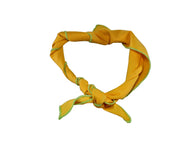 Yellow Cotton Neckerchief - Fine and Dandy