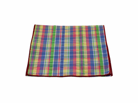 Plaid Seersucker Scarf - Fine and Dandy