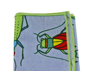 Bugs Cotton Pocket Square - Fine and Dandy