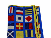 Code Flags Cotton Pocket Square - Fine and Dandy
