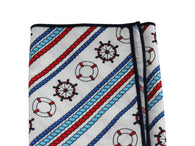 Nautical Cotton Pocket Square
