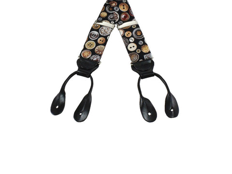 Button Suspenders - Fine and Dandy