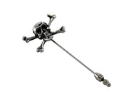 Skull & Crossbones Stick Pin - Fine and Dandy