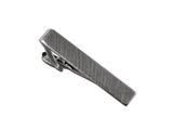 Silver Brushed 3/4 Tie Bar - Fine and Dandy