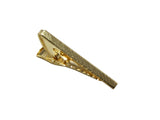 Gold Brushed Skinny Tie Bar - Fine and Dandy