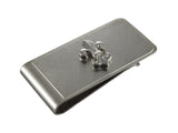 Silver Fleur-De-Lis Money Clip - Fine and Dandy