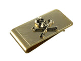 Gold Skull & Crossbones Money Clip - Fine and Dandy