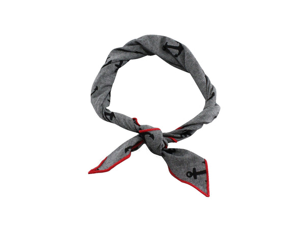 Anchors Cotton Neckerchief - Fine and Dandy