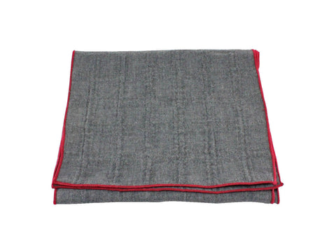 Grey Cotton Scarf - Fine and Dandy