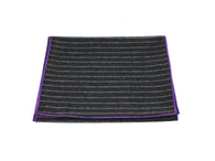 Black Chalk Striped Wool Scarf - Fine and Dandy