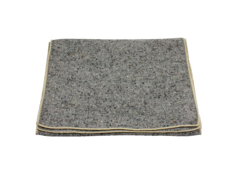 Grey Donegal Tweed Wool Scarf - Fine and Dandy