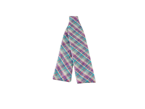Pastel Batwing Seersucker Bow Tie - Fine and Dandy