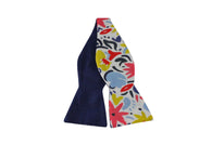 Floral Fiesta Reversible Bow Tie - Fine and Dandy