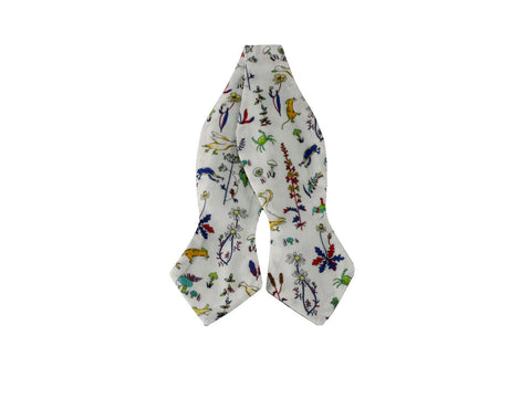 All Living Things Cotton Bow Tie - Fine and Dandy