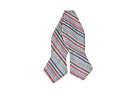 Pastel Striped Cotton Bow Tie - Fine and Dandy