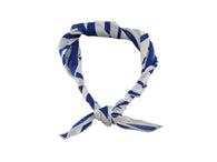 Ocean Blue Palm Leaf Neckerchief - Fine and Dandy
