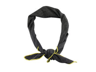 Charcoal Linen Neckerchief - Fine and Dandy