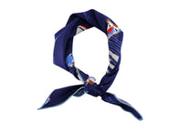 Seascape Cotton Neckerchief - Fine and Dandy