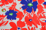 Bright Floral Cotton Neckerchief - Fine and Dandy