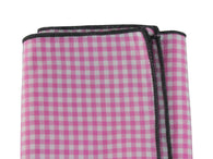 Pink Gingham Cotton Pocket Square - Fine and Dandy