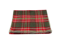 Red Plaid Flannel Scarf - Fine And Dandy