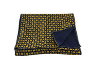 Golden Deco Print Double Sided Scarf - Fine And Dandy