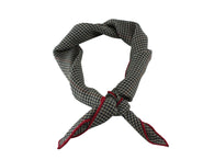 Check Wool Neckerchief - Fine And Dandy