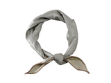 Champagne Wool Sateen Neckerchief - Fine And Dandy