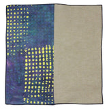 Blocked Panelled Pocket Square - Fine And Dandy