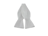 Ivory Silk Bow Tie - Fine And Dandy