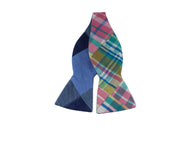 Patchwork Reversible Bow Tie - Fine And Dandy