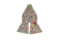 Neon Floral Cotton Bow Tie - Fine And Dandy