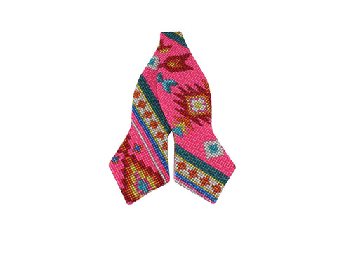 Electric Beads Reversible Bow Tie - Fine And Dandy