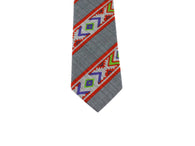 Aztec Print Cotton Tie - Fine And Dandy
