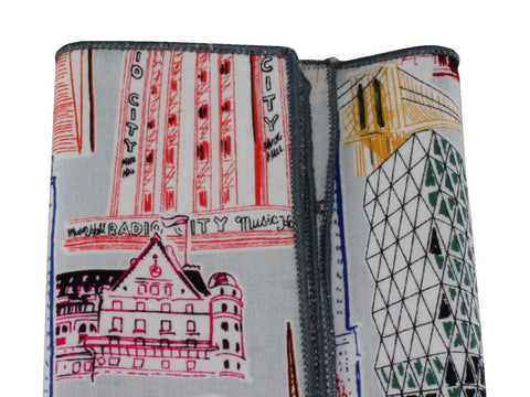 NYC Landmarks Cotton Pocket Square - Fine And Dandy