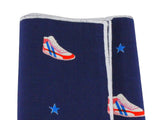 Sneakers Cotton Pocket Square - Fine And Dandy