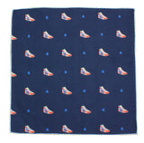 Sneakers Cotton Pocket Square