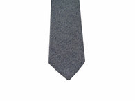 Herringbone Wool Blend Tie - Fine and Dandy