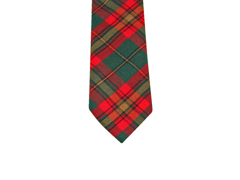 Cozumel Tartan Wool Tie - Fine and Dandy
