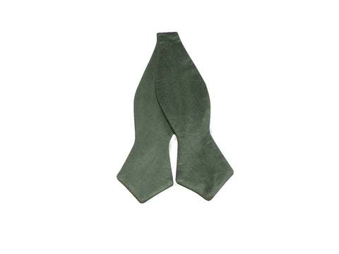 Emerald Satin Bow Tie - Fine and Dandy