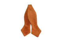 Rust Corduroy Bow Tie - Fine and Dandy