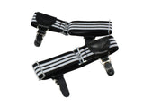 Black & White Sock Garters
