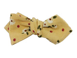 Floral Corduroy Bow Tie - Fine and Dandy