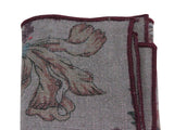 Floral Linen Pocket Square - Fine And Dandy