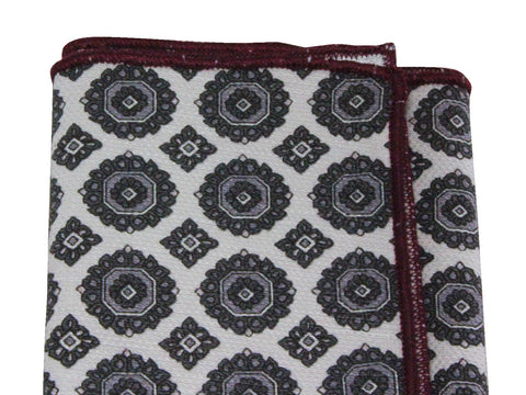 Medallion Cotton Pocket Square - Fine And Dandy