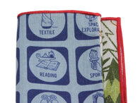 Boy Scouts Panelled Pocket Square - Fine And Dandy