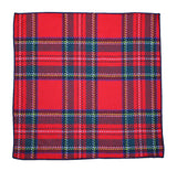 Royal Stewart Wool Pocket Square - Fine And Dandy