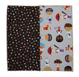 Sporty Kids Panelled Pocket Square - Fine And Dandy